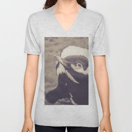 Adorable African Penguin Series 4 of 4 Unisex V-Neck