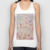 magnolia Tank Tops featuring Magnolia  by Pure Nature Photos