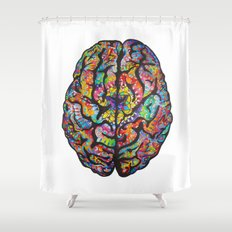 A Renewed Mind Shower Curtain