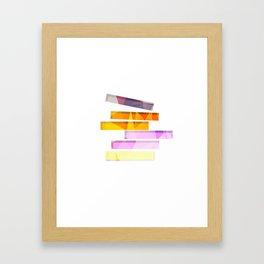 Simplicity of Stacks Framed Art Print