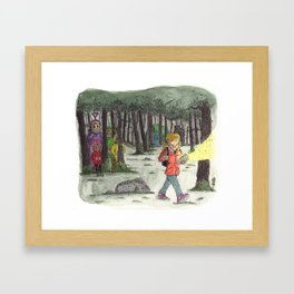 Slendertubbies Framed Art Print