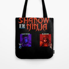 Shadow of the Ninja- Blue Shadow Tote Bag