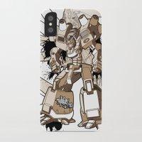 gundam iPhone & iPod Cases featuring Gundam Style by RiskeOne opc