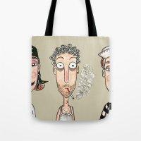 men Tote Bags featuring Men by t i t i l l a