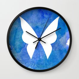 Ocean Fairy (Inverted) Wall Clock