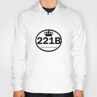 221b Hoodies featuring 221B by Lugonbe