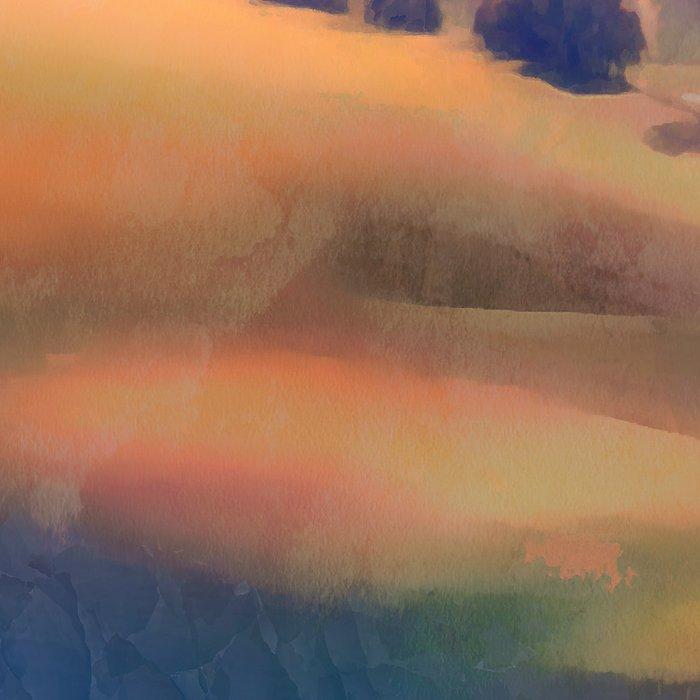Autumn landscape Leggings