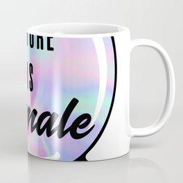 The Future is Female Crystal Ball Coffee Mug