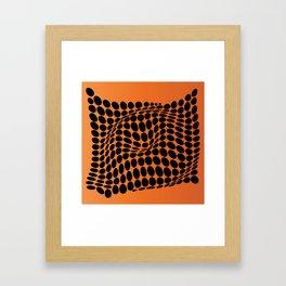 COME INSIDE (ORANGE) Framed Art Print