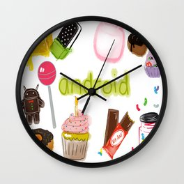 Android Wall Clock