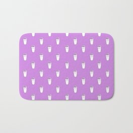 Double Cup Allover Print Bath Mat