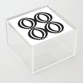 Oval Links Acrylic Box