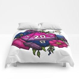 Pride Bisexual D20 Tabletop RPG Gaming Dice Comforters
