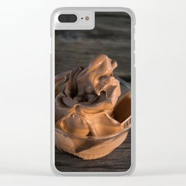 chocolate delight Clear iPhone Case