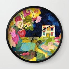Nightgarden Wall Clock