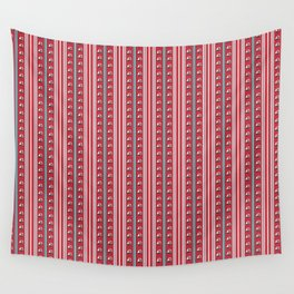 Striped Ahoy Red Wall Tapestry