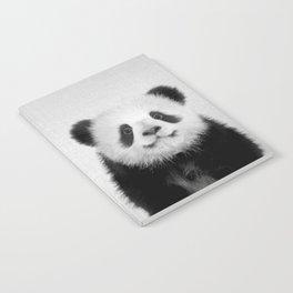 Panda Bear - Black & White Notebook