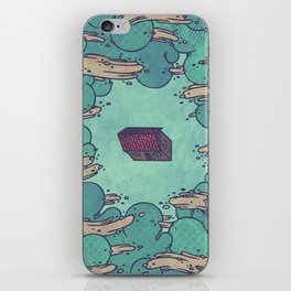 Away from Everything iPhone Skin