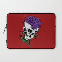 Darkness In Bloom Laptop Sleeve