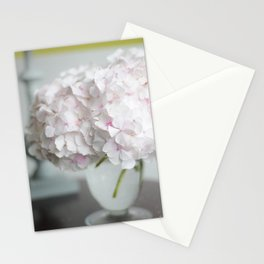 Pink, Grey and Lime Stationery Cards