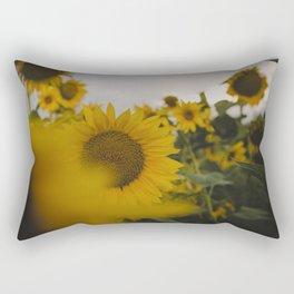 Happy Field Rectangular Pillow
