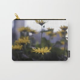 Bursts of Gold Carry-All Pouch
