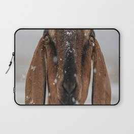 Braving the Snow Laptop Sleeve