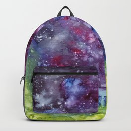 Abstract Galaxy Backpack