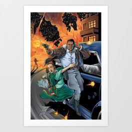 Blackjack: High Road To Adventure Art Print