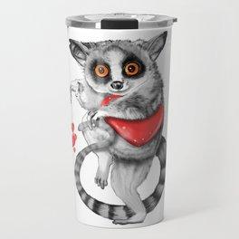 Lemur Thief of Hearts Travel Mug