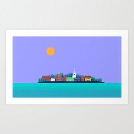 Eastport, Maine Art Print