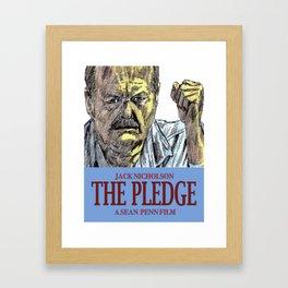 The Pledge Framed Art Print