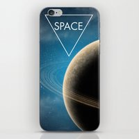 planet iPhone & iPod Skins featuring Planet by Natalie Reed