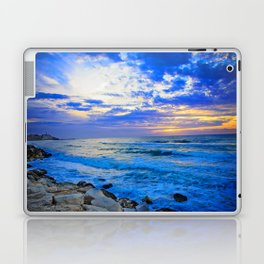 Tel Aviv Beach Sunset Laptop & iPad Skin