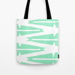 Green Tribal Tote Bag