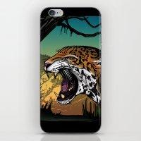 jaguar iPhone & iPod Skins featuring Jaguar by Adamzworld