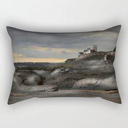 Steampunk / Burtonesque Coastal Fort Rectangular Pillow