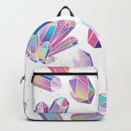 Purple Crystals Backpack