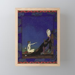 Arabian Nights by Kay Nielsen  Framed Mini Art Print