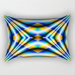 Drape - Blue Rectangular Pillow
