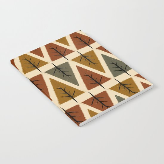 tree pattern Notebook