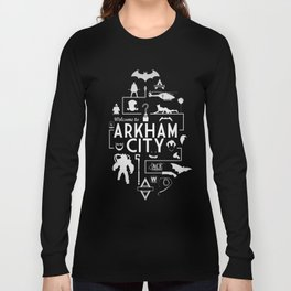 Welcome To Arkham City Long Sleeve T-shirt