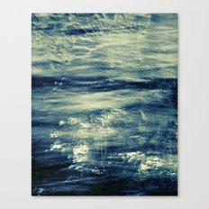 impressions of the sea Canvas Print
