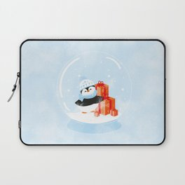 Christmas Penguin Laptop Sleeve