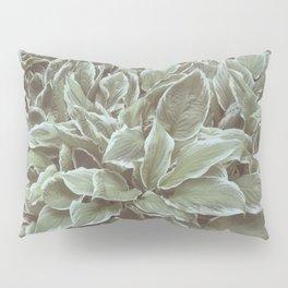 Green Leaves Plant, Hosta Pillow Sham
