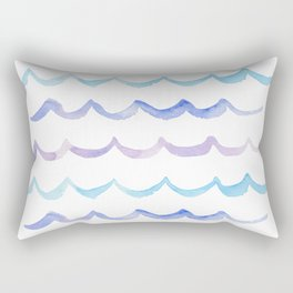 Life is Swell - Ombre Waves Rectangular Pillow