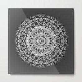 Mandala blast Metal Print