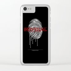 Individual Clear iPhone Case