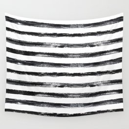 Grungy stripes Wall Tapestry