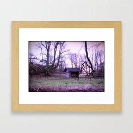 the begining Framed Art Print